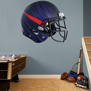 TCU Horned Frogs Bleeding Eyes Helmet Fathead Wall Decal